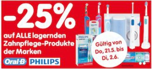-25% na oral b i philips shetki